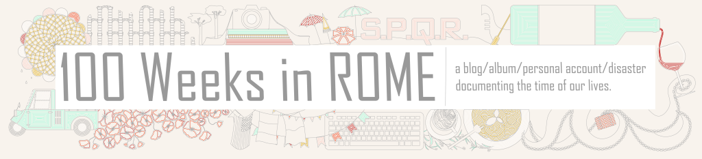 100 Weeks in Rome