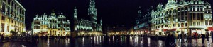 Grand Place, Brussels, Belgium Panorama