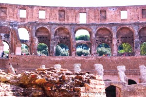 Arches of the Colosseum