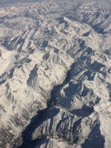 Airplane Alps