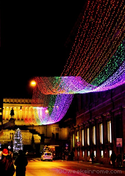 Rome Christmas Lights