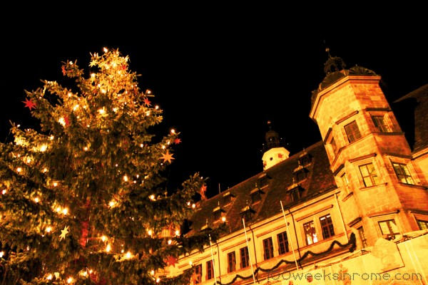 Rothenburg Night Tree