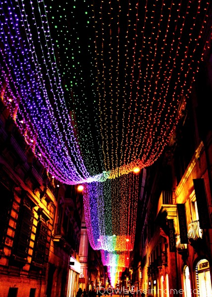 Via Del Corso Christmas Lights2