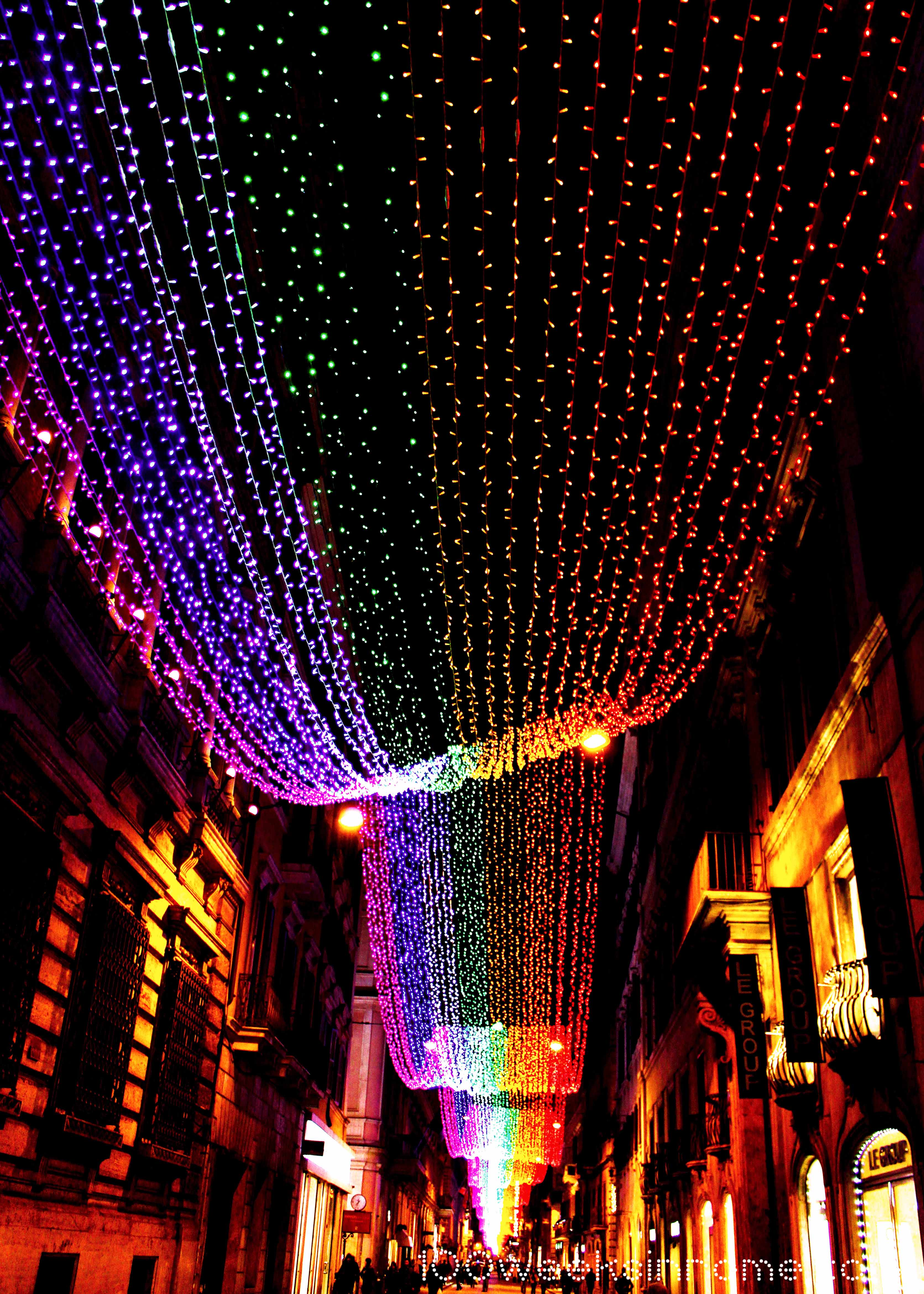 Christmas Lights in Rome | 100 Weeks in Rome