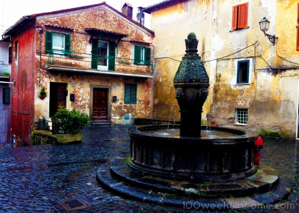 Sutri Fountain