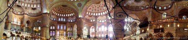 Blue Mosque Panorama