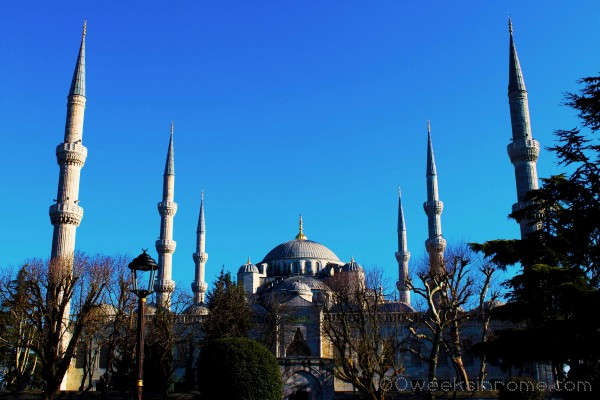 Blue Mosque from front