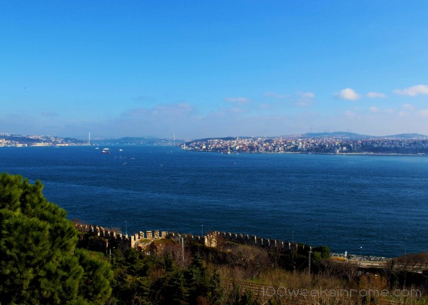 Bosphorus from Topkapi Palace