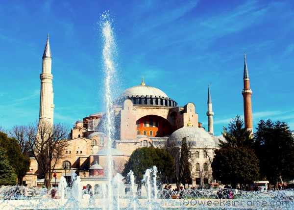 Hagia Sophia and Fountain