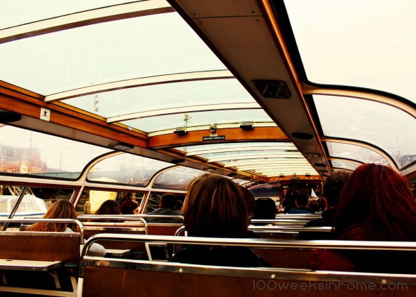 Amsterdam Canal Boat Interior