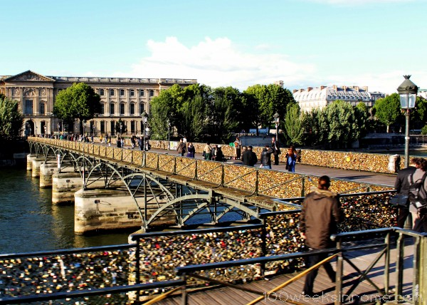 Paris Lock Bridge