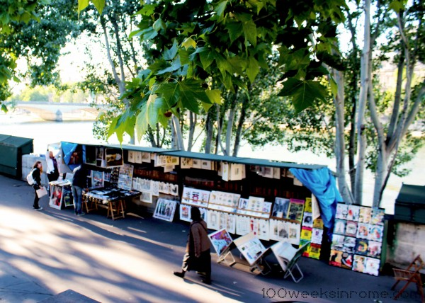 Paris Riverside Stall