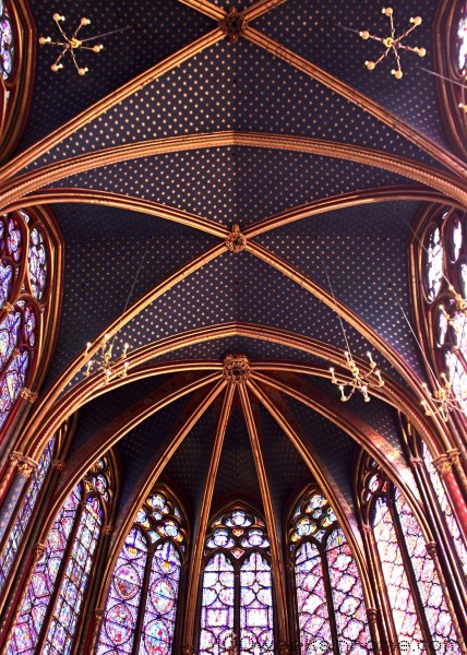 Saint Chapelle Ceiling