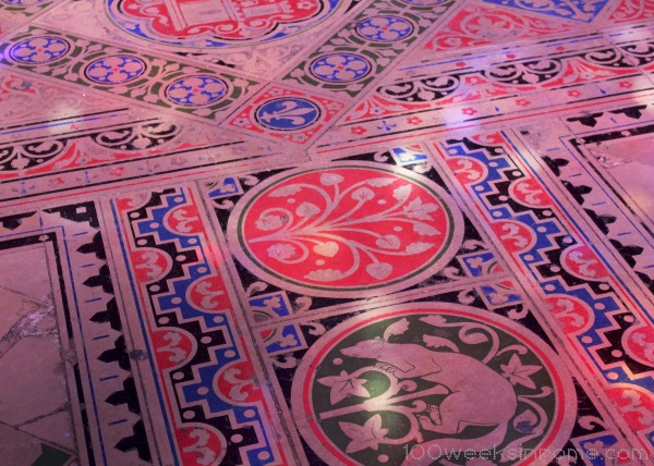 Saint Chapelle Floor