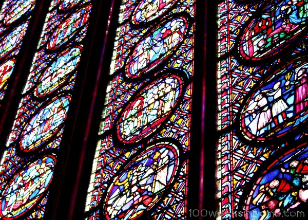 Saint Chapelle Stained Glass