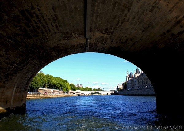 Seine Under a Bridge