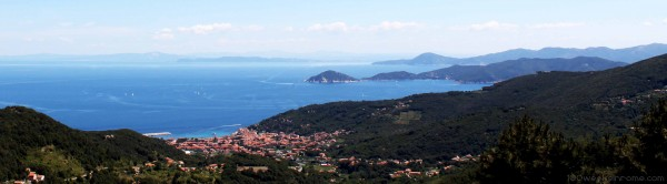 View of Marciana from Poggio