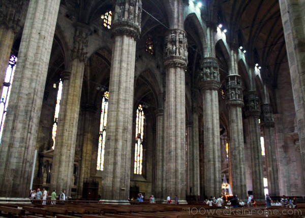 Milan Cathedral Interior 2