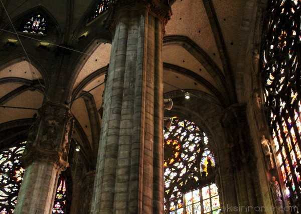Milan Cathedral Stained Glass
