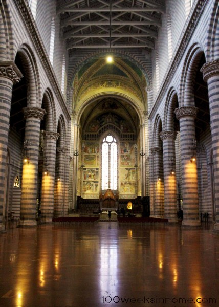 Orvieto Cathedral Interior