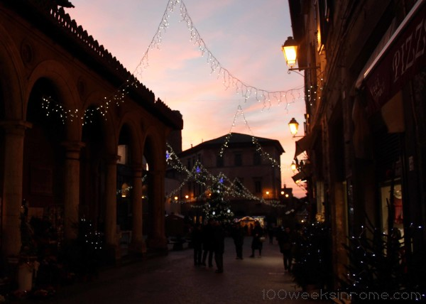Orvieto Christmas Lights