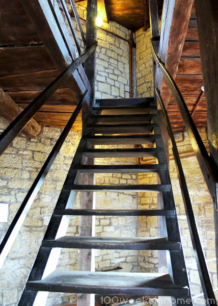 San Marino Castle Tower Stairs