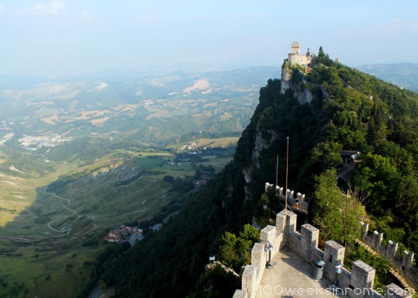 San Marino Castle View