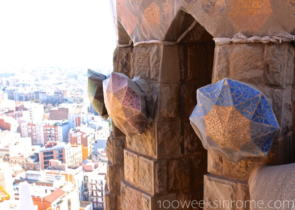 Sagrada Familia Tower View